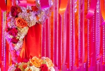 Indian Wedding Decor/ Home Decor for wedding / wedding decor ideas.   colorful decor for any sangeet to small touches that caught our eye for any Indian, Bengali, Bangladeshi or Pakistani event