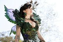 Fantasy Costumes / Fashion and Costumes of All and No Era's / by Angela Mombers