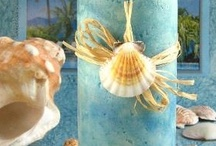 Beach and Destination wedding / Your beach wedding inspiration board, seashells, starfish, fabric mandaps and wedding arches, beach wedding cakes