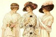 historic costuming / by Durelle Greene