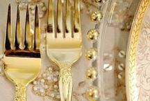 YourTableAwaits / Glamourously elegant centrepieces, cutlery, candelabra and decadent finishing touches of inspired nostalgic timelessness