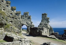 TINTAGEL, NORTH CORNWALL / Tintagel & surrounding places including Bossiney, St Nectan's Glen, Trevalga.  About 29 miles (50 mins drive) from us.