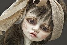 zombie, ghost and skullie dolls / by Durelle Greene