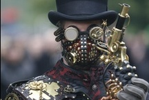 Steampunk  / homeage to the mechanical era, curiously woven within the feminine