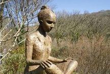 Broomhill Sculpture Garden / A local attraction, Broomhill sculpture garden is about 30 miles from us, near Barnstaple, North Devon, England, UK.
