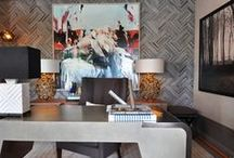 Home Office / Bringing the office home can be tough but don't make it look rough! Let us help you create a fun space to do a little office work at home!