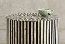 CoffeetableStyling / a coffee table is often over styled with too many books... remember to leave some room for a tray and the coffee cups