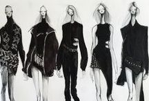 FashionFabulous / the lines on paper that bring it to life and make it fabulous