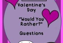 Valentine/Friendship Day / Ideas and activities for this special day
