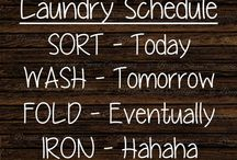 Organization, cleaning, how to's, etc
