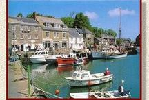 PADSTOW, NORTH CORNWALL / A popular place to visit with our guests, Padstow is 45 miles down the coast in North Cornwall, UK (about a 1 hr 15 min drive).