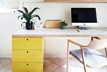 OFFICES / Interior design inspiration for project house renovation: a place to work