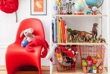 KIDS BEDROOM / Interior design inspiration for project house renovation: little M's beachy bedroom
