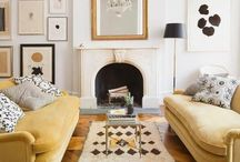 LIVING ROOMS / Interior design inspiration for project house renovation: the more formal living space