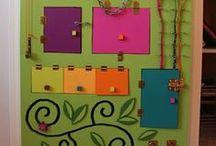 Ideias para Lorena / Ideário de atividades e objetos para crianças.
