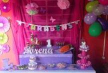 Aniversarios para Lorena / Ideário de aniversários infantis
