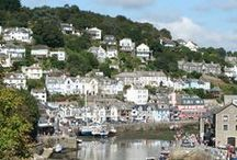 DAY TRIPS - LOOE, SOUTH CORNWALL / Looe and surrounding places in South Cornwall.  About 45 miles (1hr 20m drive) from us.