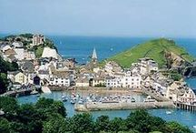 ILFRACOMBE & COMBE MARTIN, NORTH DEVON / Ilfracombe & nearby places including Combe Martin, Lee Bay.  About 35 miles (58 minutes drive) from us.