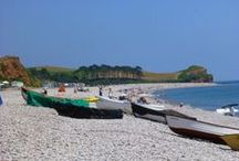 DAY TRIPS - BUDLEIGH SALTERTON, SOUTH DEVON / Budleigh Salterton on the South East Devon coast including nearby places: East Budleigh, Bicton. About 63 miles (1hr 30m to drive) from us.