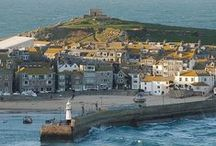 DAY TRIPS - ST. IVES, WEST CORNWALL / St. Ives, West Cornwall & surrounding places including Carbis Bay, Porthmeor Beach, Porthminster Beach.  About 90 miles (1hr 50m drive) from us.