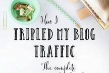 Blog Post Ideas! / Blogging strategies, how to create blog traffic, SEO, how to monetize your blog, and more!