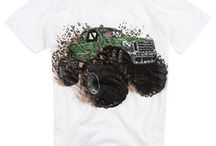 Kids Love Monster Trucks / Monster truck shirts, monster truck toys, monster truck shows, monster truck games, monster truck birthday parties - this is the place for everything MONSTER TRUCKS