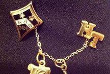 Kappa Alpha Theta Badges / #theta1870 #badgeday14