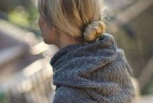 Knitted loveliness - shawls and scarves