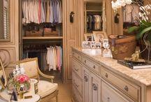 Closets / Dream closets!!  / by Kim Wyly