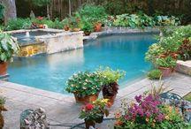 Pool house / Pool house ideas / by Kim Wyly