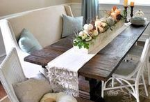 Dining Rooms / by Courtney McHenry