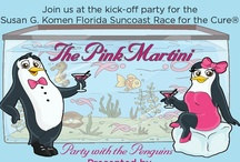 Pink Martini / The Pink Martini is the annual party to kick-off the Race for the Cure! This year we are partying with the penguins at the Florida Aquarium on September 18th! Buy your tickets now at: http://tinyurl.com/martini2012!