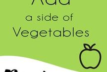 "Add a Side of Vegetables / You can always add a side of vegetable!  Dinner, Lunch and even Breakfast. Check these super yummy vegetable recipes that even the pickiest family member would love.  Let me know what you think by clicking the ""Tried it button"" and leave a comment on any of the recipes."