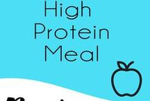 High Protein Meals / Looking for high protein meals?