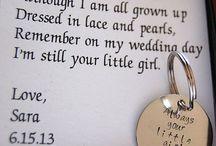 Girls' Wedding Ideas / by Irene Green