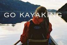 Kayaking / Kayaking, paddling, canoeing