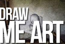 DRAW ME I STREET ART OF MANY / by Piotr Bucki