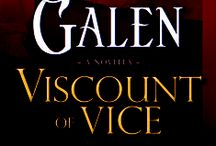 Viscount of Vice / Novella: Covent Garden Cubs January 2015 / by Shana Galen
