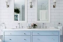 Bathrooms / Beautiful bathrooms that are big on style!