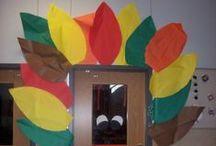 First Grade - THANKSGIVING/TURKEYS/VETERANS DAY / by Laura Smith