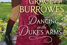 """Dancing in the Duke's Arms / """"Waiting for a Duke Like You"""" in the Summer anthology with Grace Burrowes, Carolyn Jewel, Miranda Neville"""