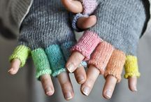 Knitted loveliness - mittens and gloves