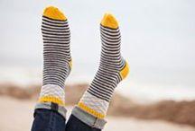 Knitted loveliness - socks
