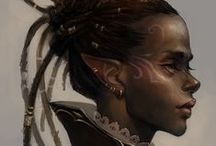 Characters (female) / Various images and portraits for RPG characters, both PCs and NPCs.