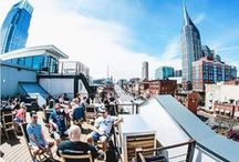 Nashville Patios / Enjoy the beautiful weather, a bite to eat, and a great drink at the many restaurants with awesome patio seating in Music City.