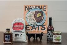 Music City Marketplace / The Music City Marketplace, at the Nashville Visitor Center at One Nashville Place, offers a curated selection of gifts, home goods, and accessories for an authentic take on the creative culture that defines Nashville. Shop from many local favorites such as Consider the Wldflwrs, Ceri Hoover, Colonel Littleton, and Handmade Studio TN.