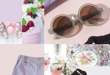 Garden Party Essentials / Summertime means garden party time! Look your best from head-to-toe with the perfect outfit from designer, GEORGINE, and the perfect pair of glasses from MOSCOT!   With laid-back elegant vibes, women's wear label GEORGINE will make your host's perennials and peonies the sideshow of the party!
