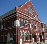 Music City Anniversaries / 2017 will mark major anniversaries for many of Nashville's most iconic music establishments, including the Ryman Auditorium (125th), the Nashville Symphony (70th season), Historic RCA Studio B (60th), CMA Awards (50th), Country Music Hall of Fame and Museum (50th),  The Bluebird Cafe (35th), Music City Walk of Fame (10th), and several others. Throughout the year these organizations will host special events and programming to celebrate their individual milestones. Check this board for updates!