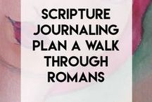 creativecue / Your cue to living a soul filled life with scripture journal plan and scripture writing plans with other inspired plans