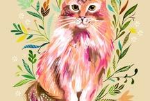Cats Cats Cats / by Elizabeth Eells
